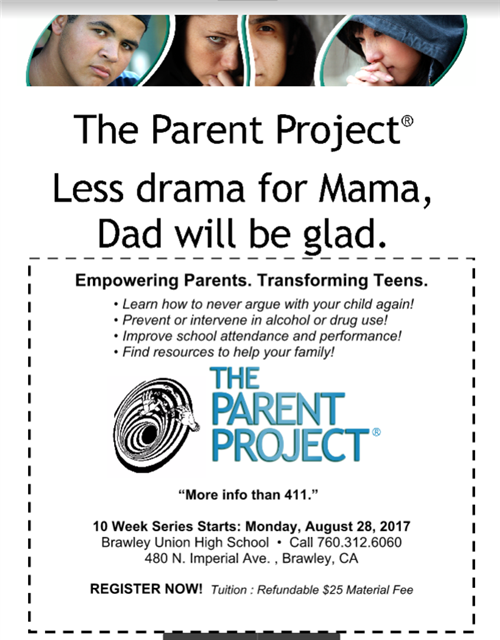 Parenting Classes Flyer