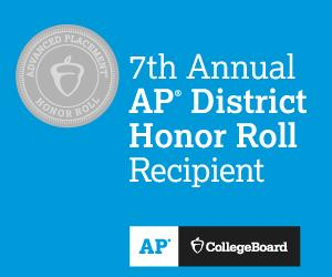 7th Annual AP District Honor Roll Recipient